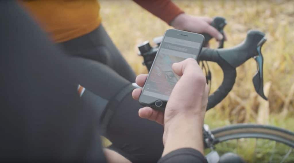 La Permanence iPhone cycling app