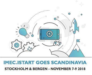 Imec Istart goes Scandinavia media trip