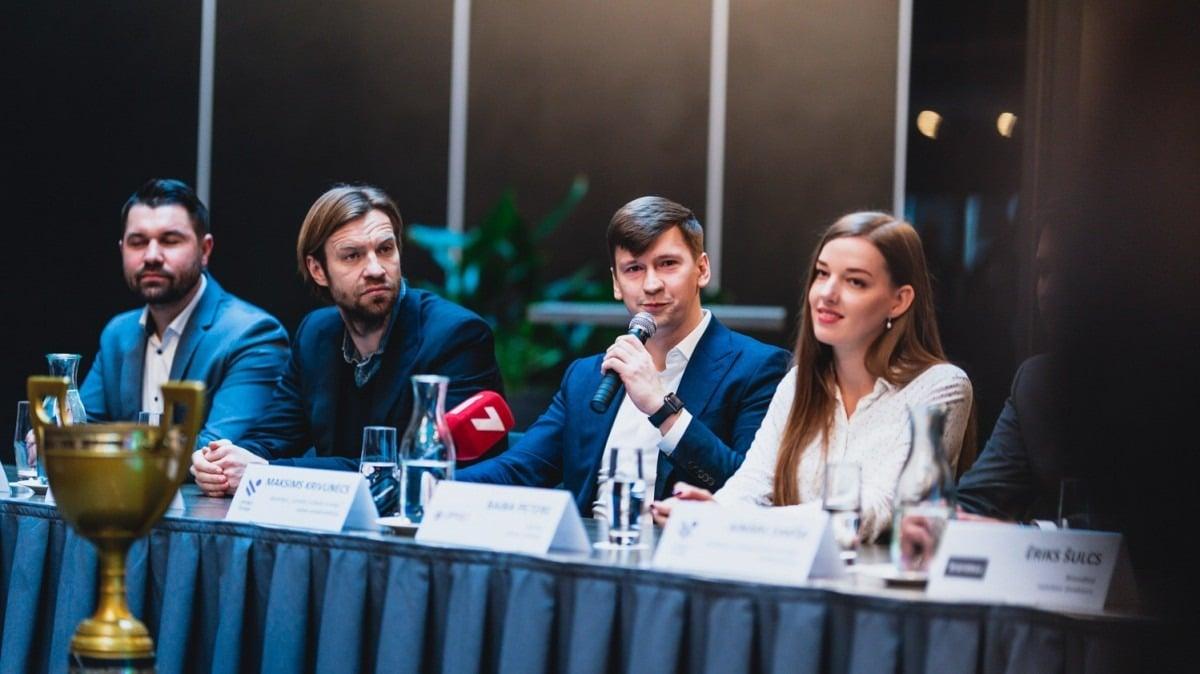 Latvijas Futbola Virsliga press conference 2019 season