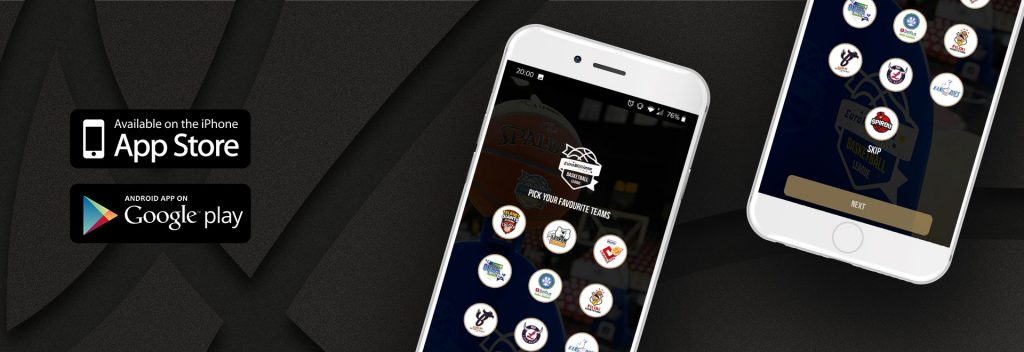 Pro Basketball League mobile app