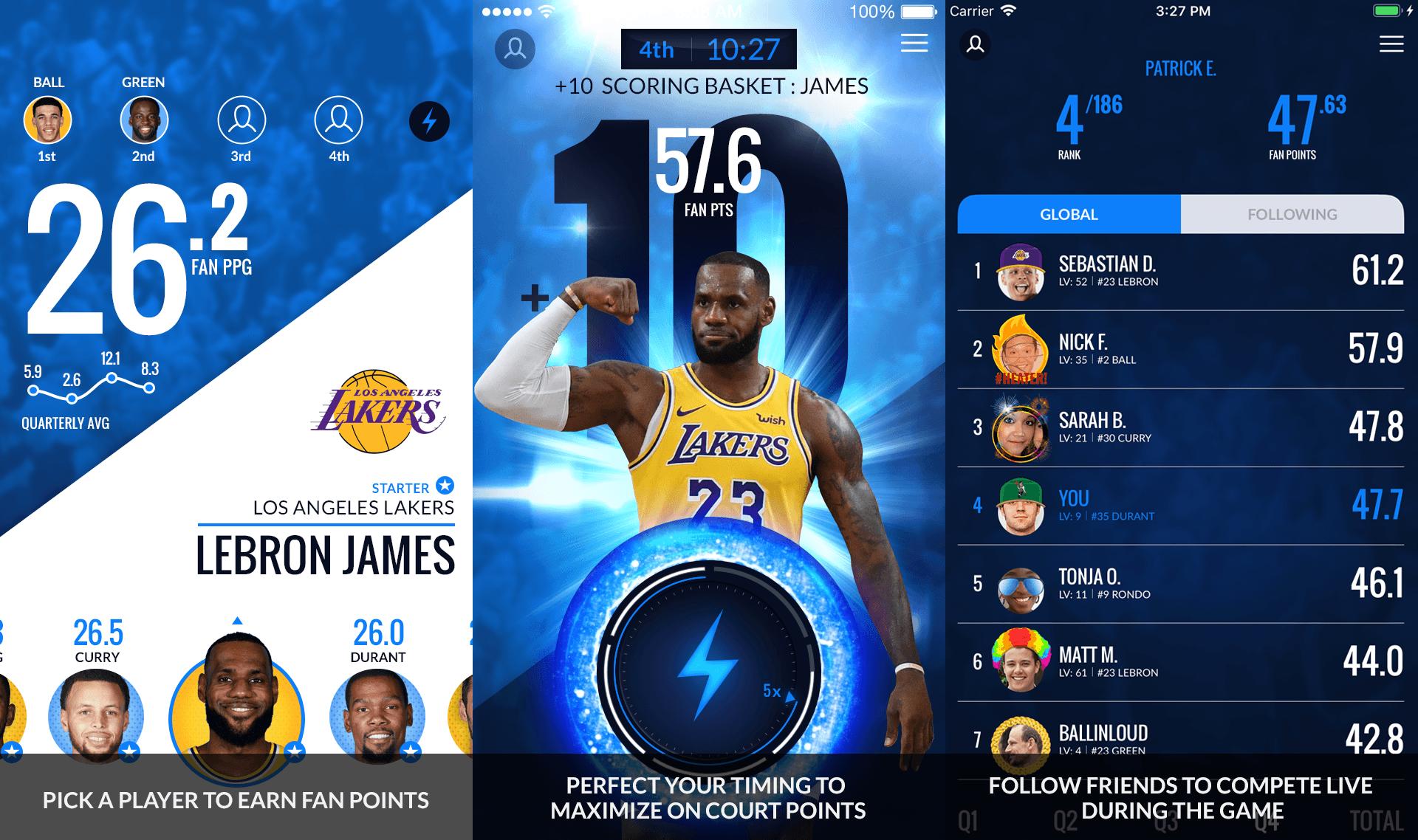 NBA InPlay app