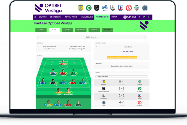 Fantasy Virsliga integration