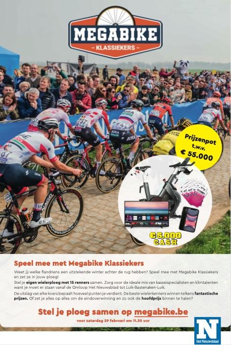 Megabike Klassiekers 2020 print ad