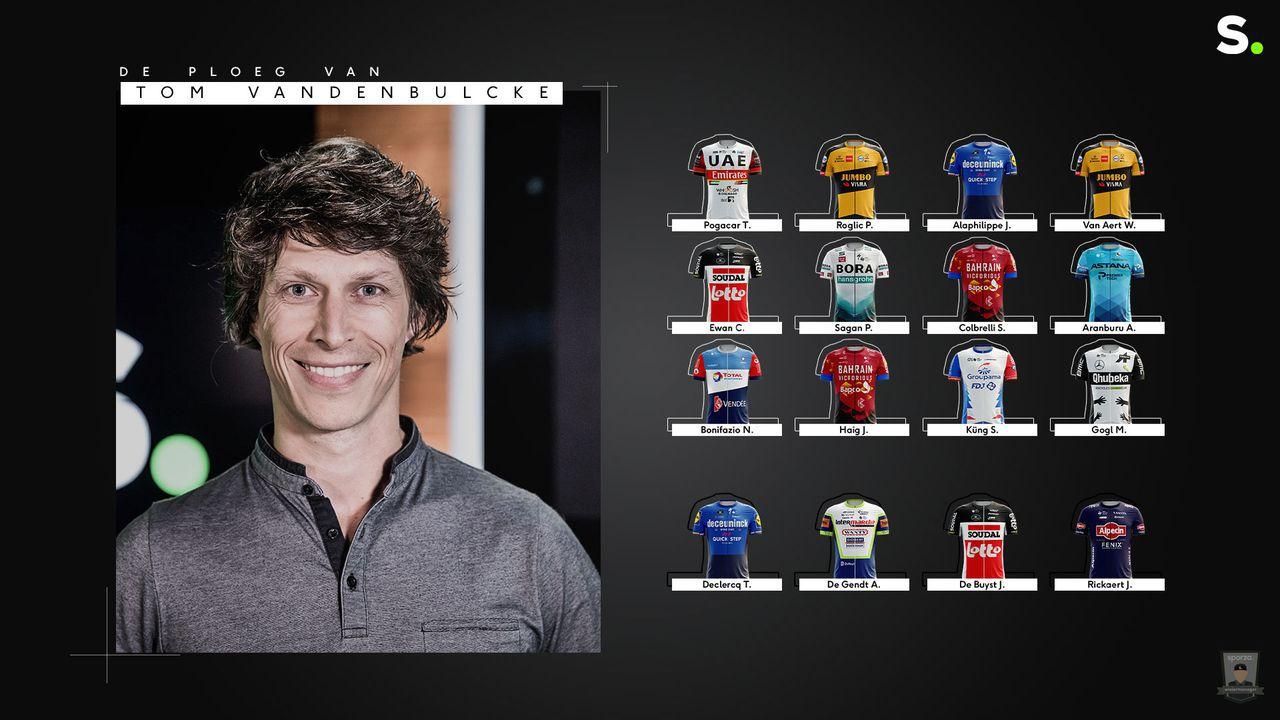 Sporza Tourmanager Team Tom Vandenbulcke